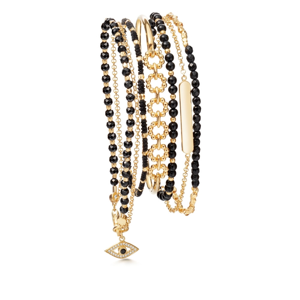 London Nights Bracelet Stack