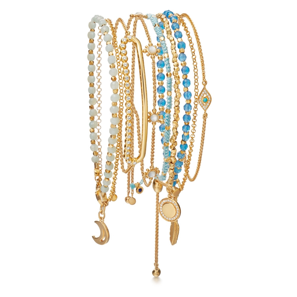 Reflection Bracelet Stack