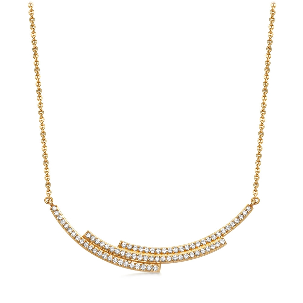 Large Icon Scala Diamond Necklace