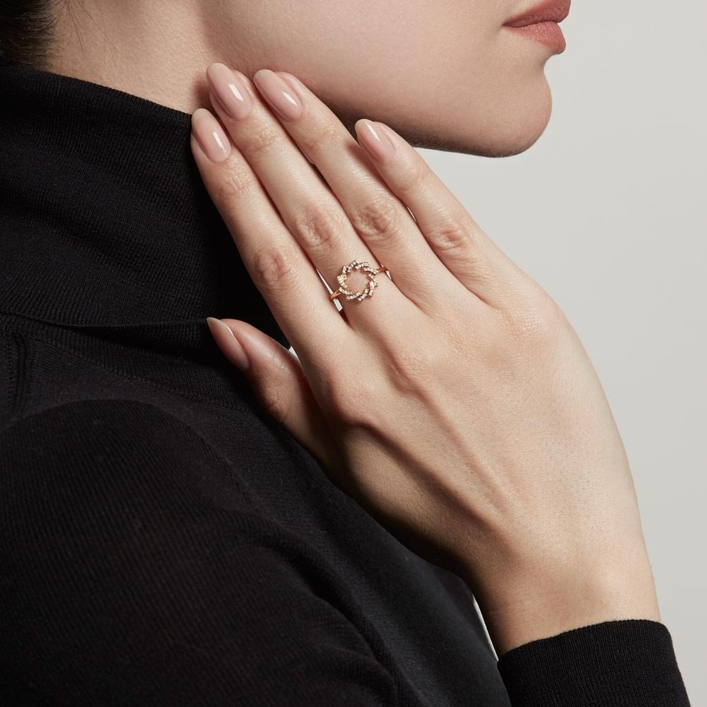 Icon Scala Cirque Diamond Ring