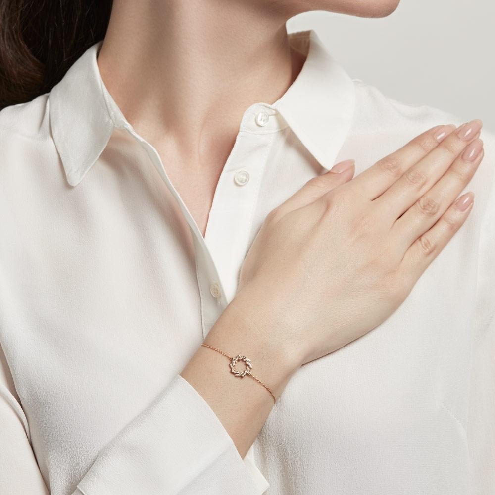 Icon Scala Cirque Diamond Bracelet