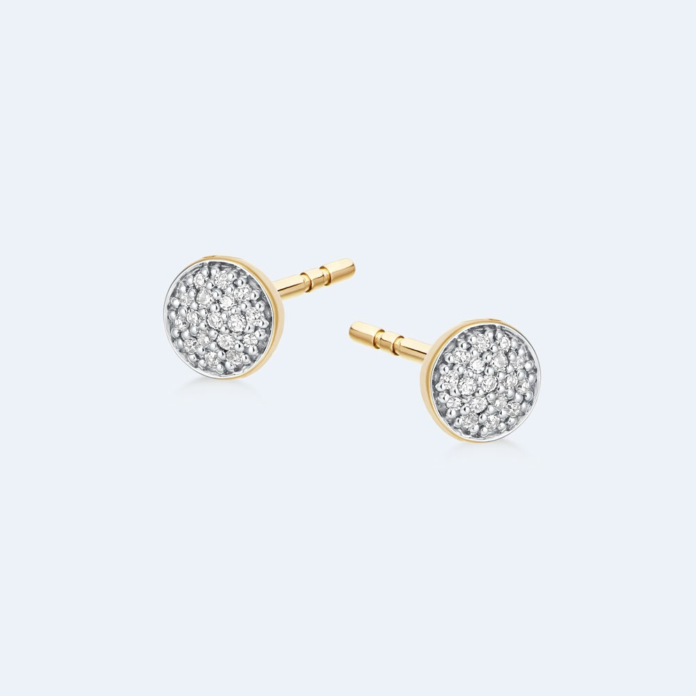 Icon Diamond Stud Earrings