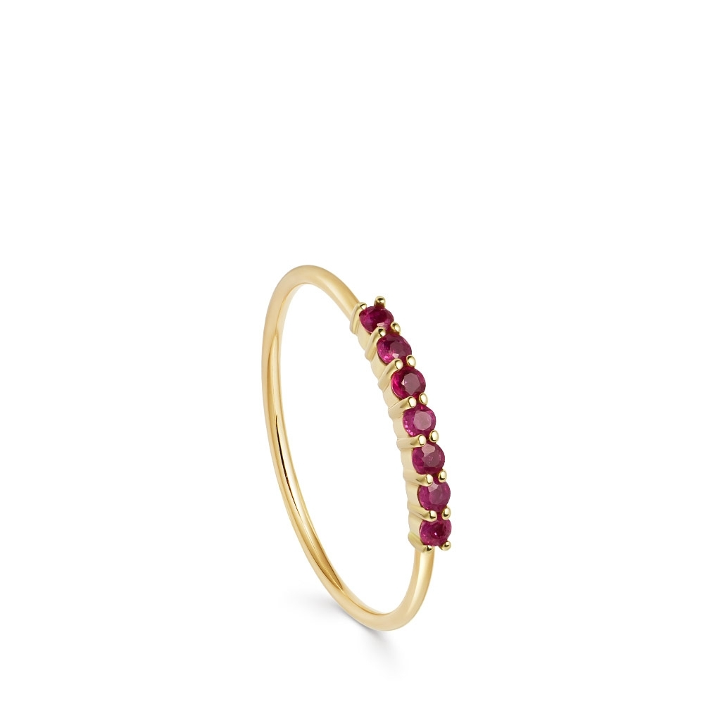Ruby Stacking Ring