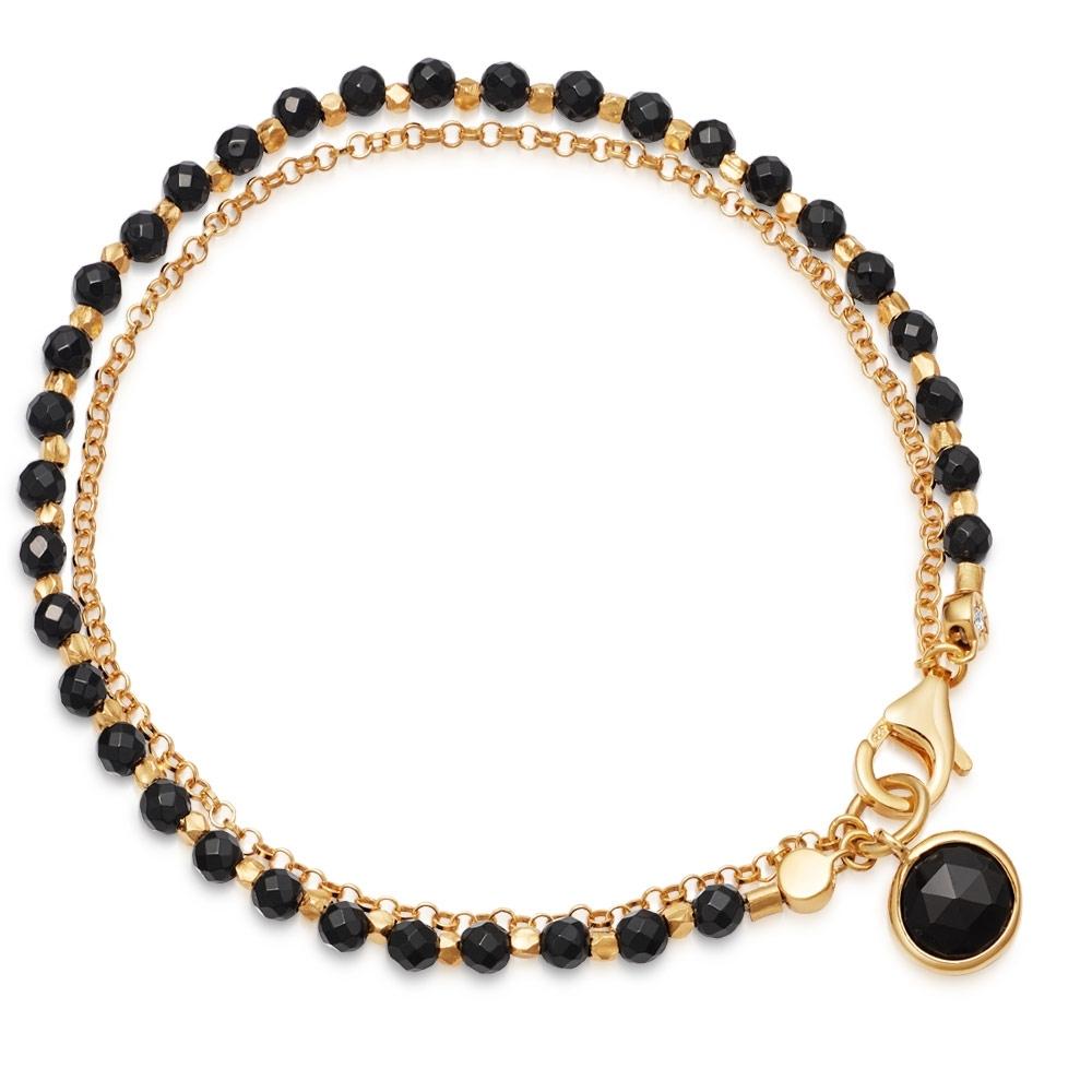 Black Onyx Biography Bracelet