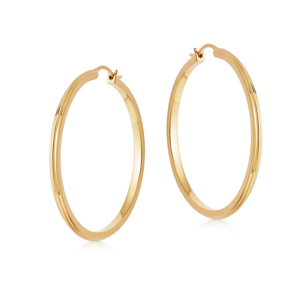Large Linia Hoop Earrings